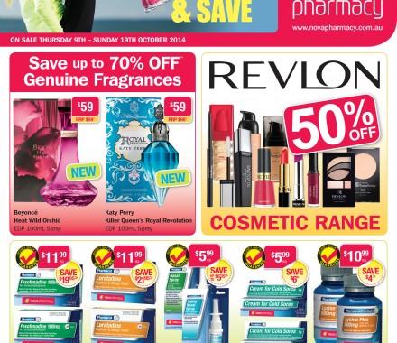 Nova Pharmacy – Catalogue Campaign