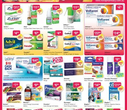 Nova Pharmacy – Flyer Campaign