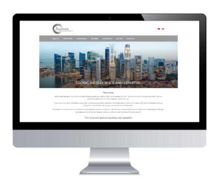 Banner Asset Management – Website & Html Emails