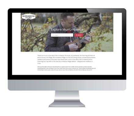 Murrumbeena Village Website & Launch Campaign